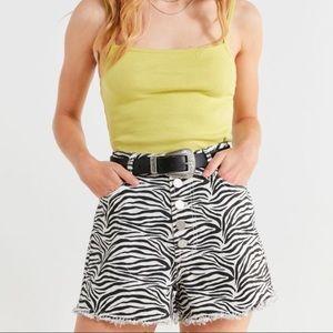 Urban Outfitters BDG High-Rise Denim Shorts NWT